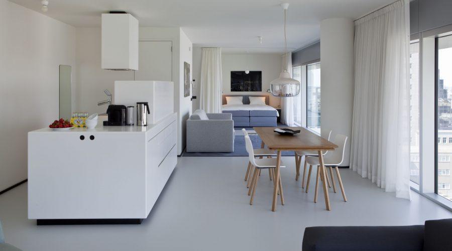 Family suite Urban Residences Rotterdam