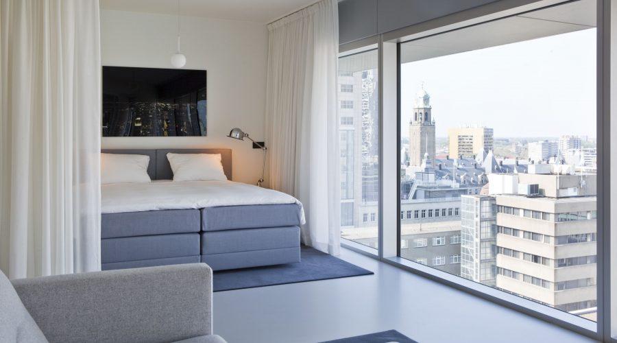 Family suite Urban Residences Rotterdam slaapkamer