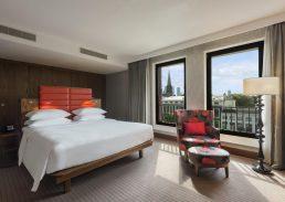Gezinssuite Hilton The Hague slaapkamer