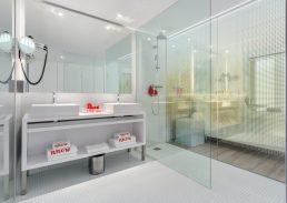 Skyline suite Rotterdam regendouche