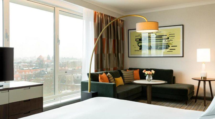 King Junior suite Hilton Amsterdam kamer