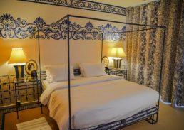Neptune suite Amsterdam slaapkamer