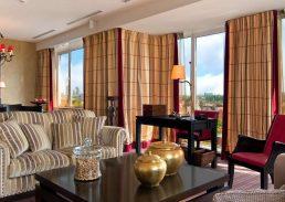 Presidentiële suite Hilton Amsterdam kamer