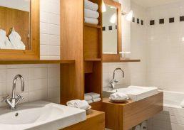 Presidentiële suite Hilton Amsterdam badkamer