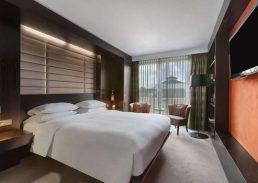 Royal suite Hilton Den Haag slaapkamer