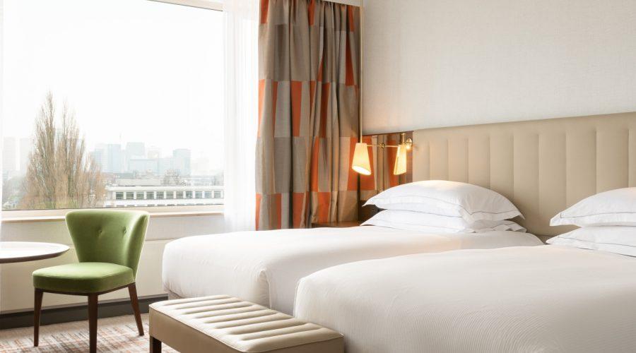 Twin Junior suite Hilton Amsterdam