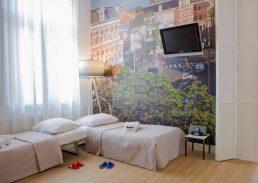 Family suite Hotel Mozaic Den Haag kinderbed