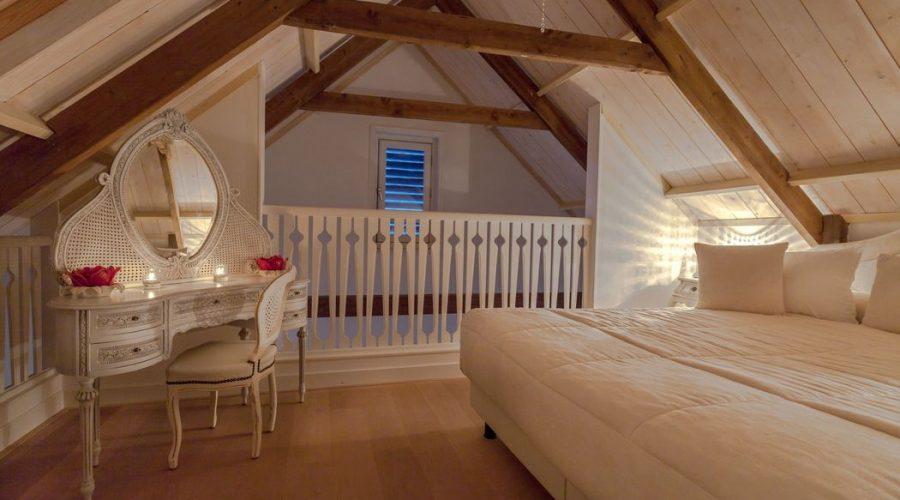 Bruidssuite met kingsize bed