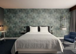 Bruidssuite Van der Valk Hotel Eindhoven bedkamer