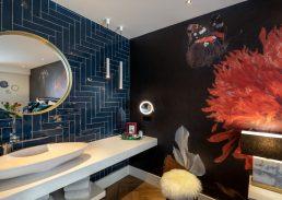 Flora suite Hotel Leiden badkamer