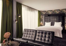 Penthouse Suite Ebony Hotel Eindhoven bed